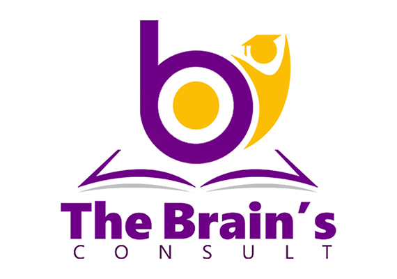 Logo made for Brains Consult