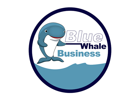 Logo design for Blue Whale Business