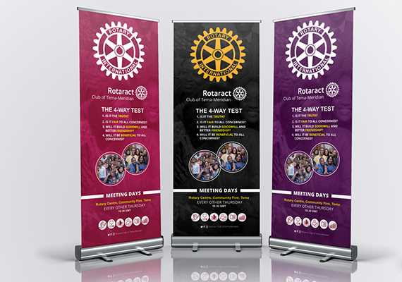 Available are all types of banners such as backdrops, retractable pull up banners etc.